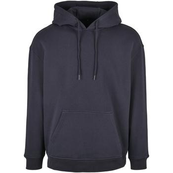 textil Herr Sweatshirts Build Your Brand BB006 Marinblått