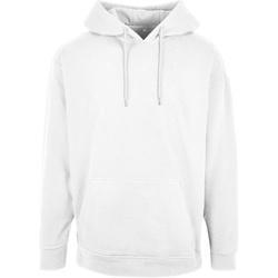 textil Herr Sweatshirts Build Your Brand BB006 Vit