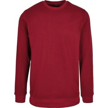 textil Herr Sweatshirts Build Your Brand BB003 Bourgogne