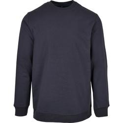 textil Herr Sweatshirts Build Your Brand BB003 Marinblått