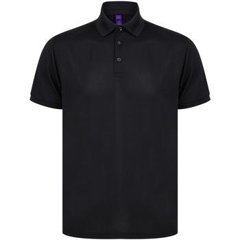 textil T-shirts & Pikétröjor Henbury HB465 Svart