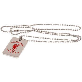 Klockor & Smycken Halsband Liverpool Fc  Silver/Röd