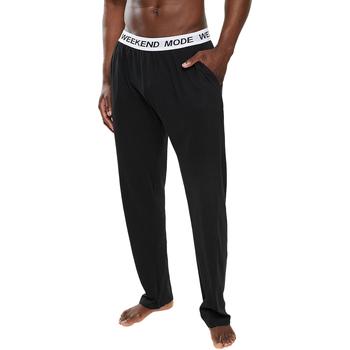 textil Herr Pyjamas/nattlinne Brave Soul  Svart