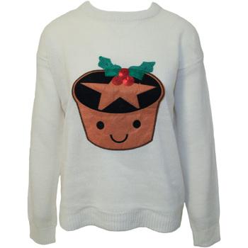 textil Dam Sweatshirts Brave Soul  Grädde