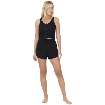 textil Dam Pyjamas/nattlinne Brave Soul  Svart