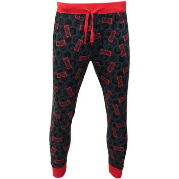 textil Herr Pyjamas/nattlinne Marvel  Röd/grå