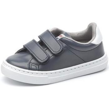 Skor Flickor Sneakers Cienta Chaussures fille  Deportivo Scractch Piel bleu marine