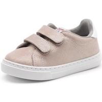 Skor Flickor Sneakers Cienta Chaussures fille  Deportivo Scractch Glitter rose