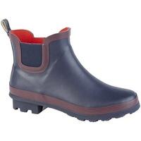 Skor Dam Boots Stormwells  Marinblått/rött