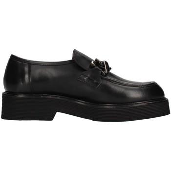 Skor Dam Loafers Triver Flight 482-07 BLACK