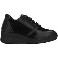 Skor Dam Höga sneakers Melluso R25623A BLACK