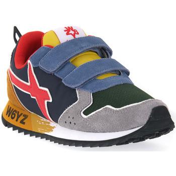 Skor Flickor Sneakers W6yz 2B08 JET VL J DARLK GREY Grigio