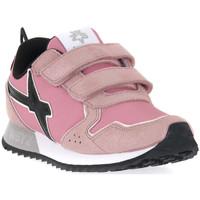 Skor Flickor Sneakers W6yz 0M03 JET VL J GLITTER ROSE Rosa