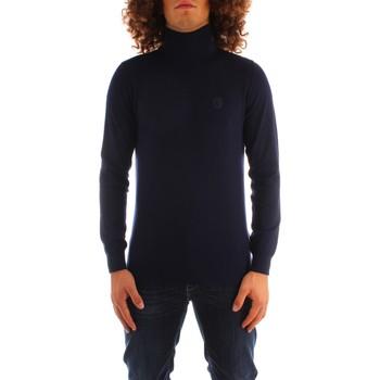 textil Herr Tröjor Trussardi 52M00516 0F000542 NAVY BLUE