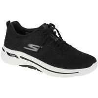 Skor Dam Sneakers Skechers Go Walk Arch Fit Unify Noir