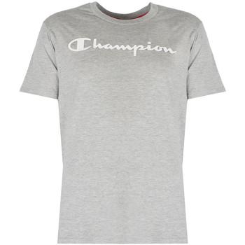textil Herr T-shirts Champion  Grå