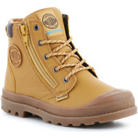 Skor Herr Höga sneakers Palladium Pampa Hi CUFF WP K 53476-216-M brown