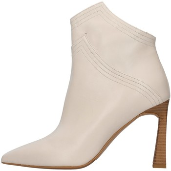 Skor Dam Boots Albano 1007A WHITE