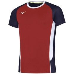 textil Herr T-shirts Mizuno Premium High Kyu Svarta