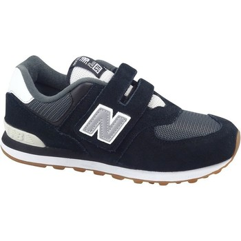 Skor Barn Sneakers New Balance 574 Vit, Svarta, Gråa