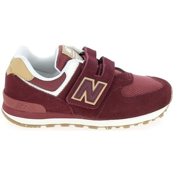Skor Barn Sneakers New Balance PV574 C Bordeaux Röd
