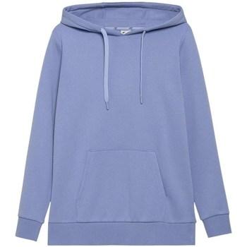 textil Dam Sweatshirts 4F BLD352 Blå
