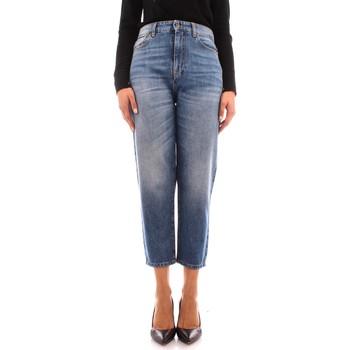textil Dam Jeans boyfriend Manila Grace J414D6 BLUE