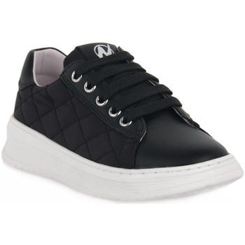 Skor Flickor Sneakers Naturino A01 NIXOM PLATINO Nero