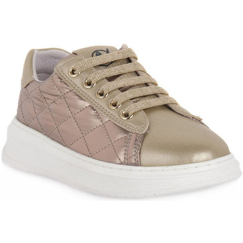 Skor Flickor Sneakers Naturino Q06 NIXOM PLATINO Grigio