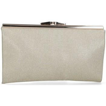 Väskor Dam Handväskor med kort rem Luna Collection 59717 guldfärgad