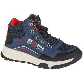 Skor Pojkar Vandringskängor Big Star Youth Shoes Bleu marine