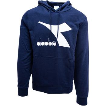 textil Herr Sweatshirts Diadora Big Logo Blå