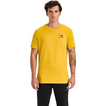 textil Herr T-shirts Diadora Ss Chromia Gul