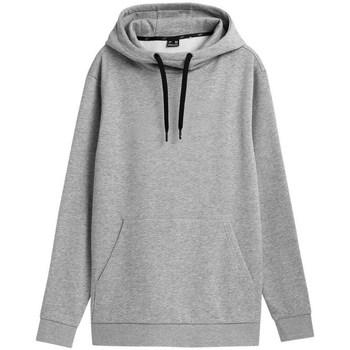 textil Herr Sweatshirts 4F BLM352 Gråa