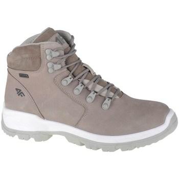 Skor Dam Höga sneakers 4F OBDH253 Beige