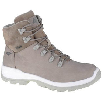 Skor Dam Höga sneakers 4F OBDH251 Beige