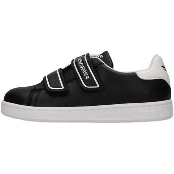Skor Pojkar Sneakers Emporio Armani EA7 XSX014 BLACK
