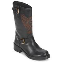 Skor Dam Boots Pastelle ANGEL Svart