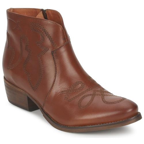 Skor Dam Boots Pastelle JANE Kamel