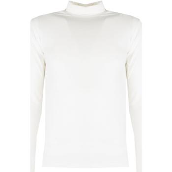 textil Herr Långärmade T-shirts Xagon Man  Beige