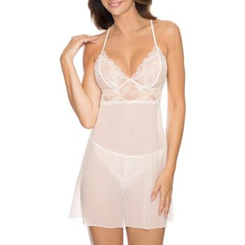textil Dam Pyjamas/nattlinne Gorteks CHARLIZE/K cream Beige