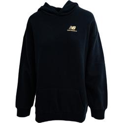 textil Dam Sweatshirts New Balance Athletics Higher Learning Svart