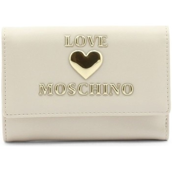 Väskor Dam Plånböcker Love Moschino JC5639PP1DLF0110 Krämiga