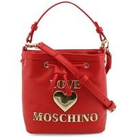 Väskor Dam Handväskor med kort rem Love Moschino JC4058PP1DLF0500 Röda