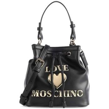 Väskor Dam Handväskor med kort rem Love Moschino JC4058PP1DLF0000 Svarta