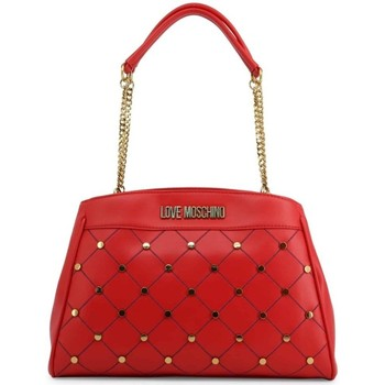 Väskor Dam Handväskor med kort rem Love Moschino JC4095PP1ALP0500 Röda