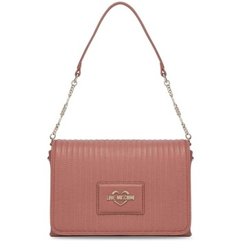 Väskor Dam Handväskor med kort rem Love Moschino JC4139PP1DLB0611 Rosa