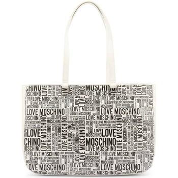 Väskor Dam Handväskor med kort rem Love Moschino JC4156PP1DLE110A Vit, Svarta