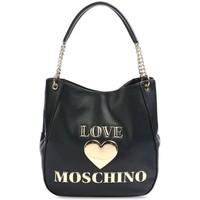Väskor Dam Handväskor med kort rem Love Moschino JC4169PP1DLF0000 Svarta