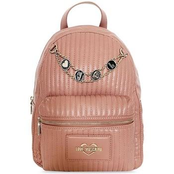 Väskor Dam Ryggsäckar Love Moschino JC4142PP1DLB0611 Rosa